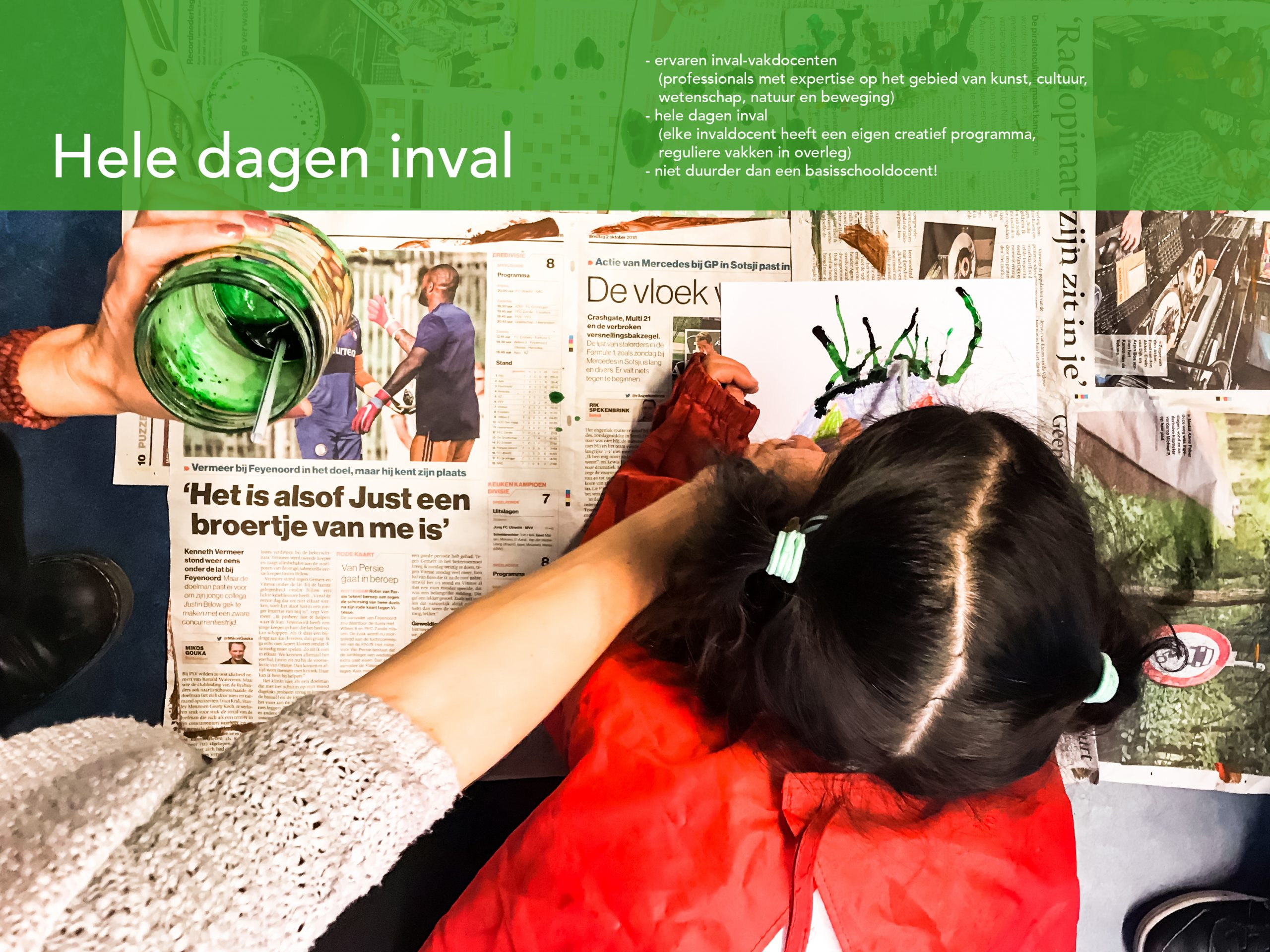 Hele Dagen Inval Basisonderwijs Amsterdam